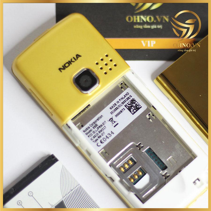nokia 6300 gold vàng zin chính hãng ohno việt nam 0397959135