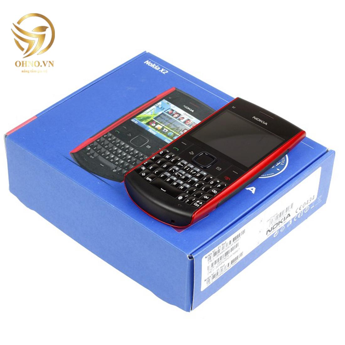 điện thoại nokia bàn phím qwerty chính hãng x2 01 cũ
