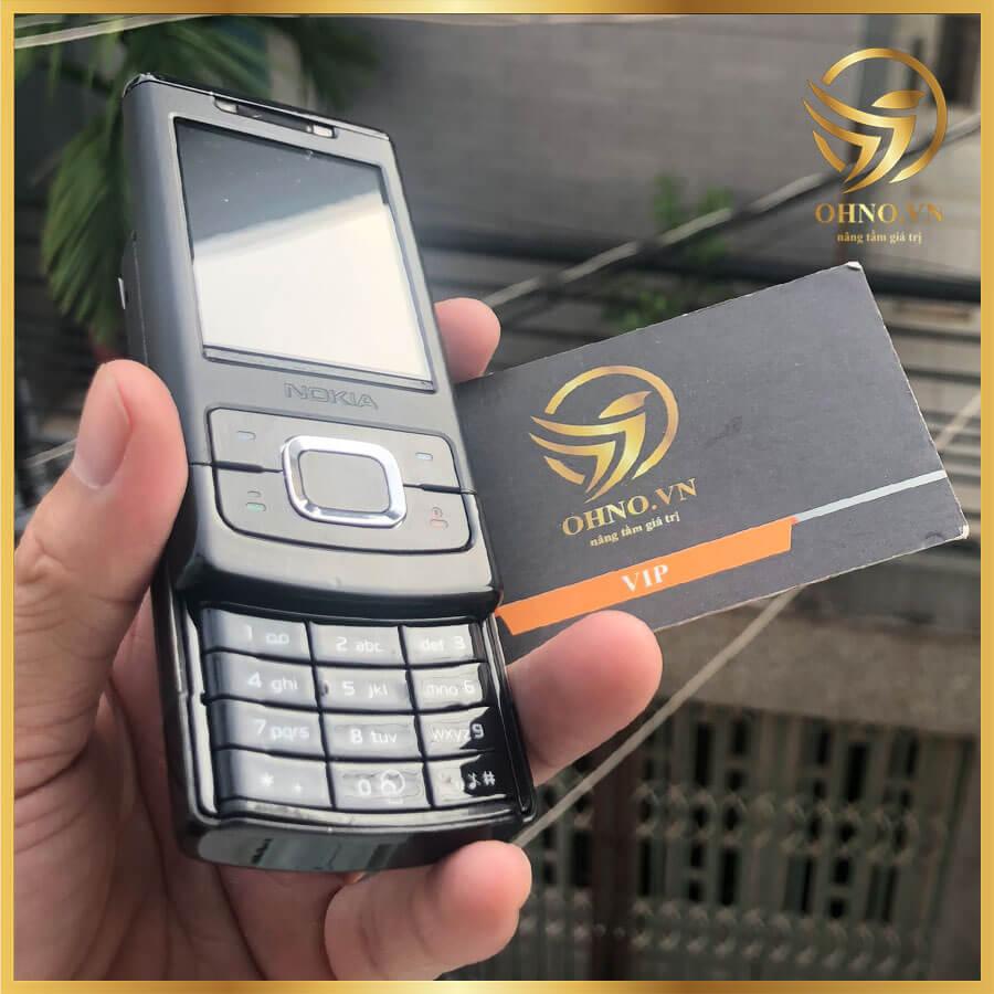 Điện thoại Nokia 6500s 6500 slide trượt cũ Zin Chính Hãng