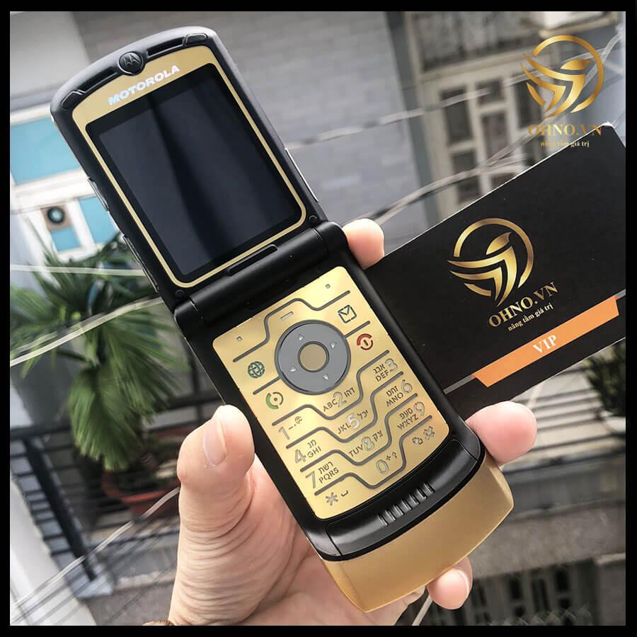 Điện Thoại Nắp Gập Motorola V3i Razr V3i Zin Chính Hãng