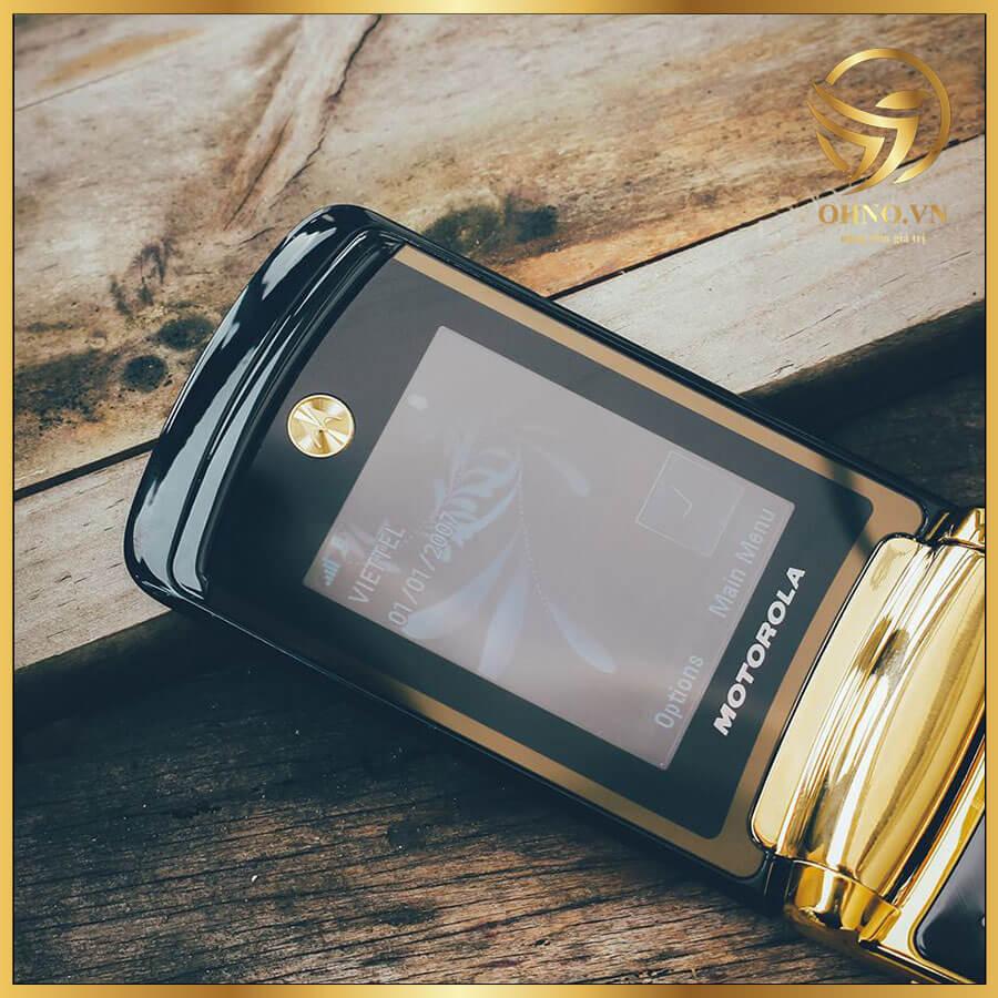 Điện Thoại Motorola Cổ Razr V8 Gold Luxury Edition ZIN Chính Hãng