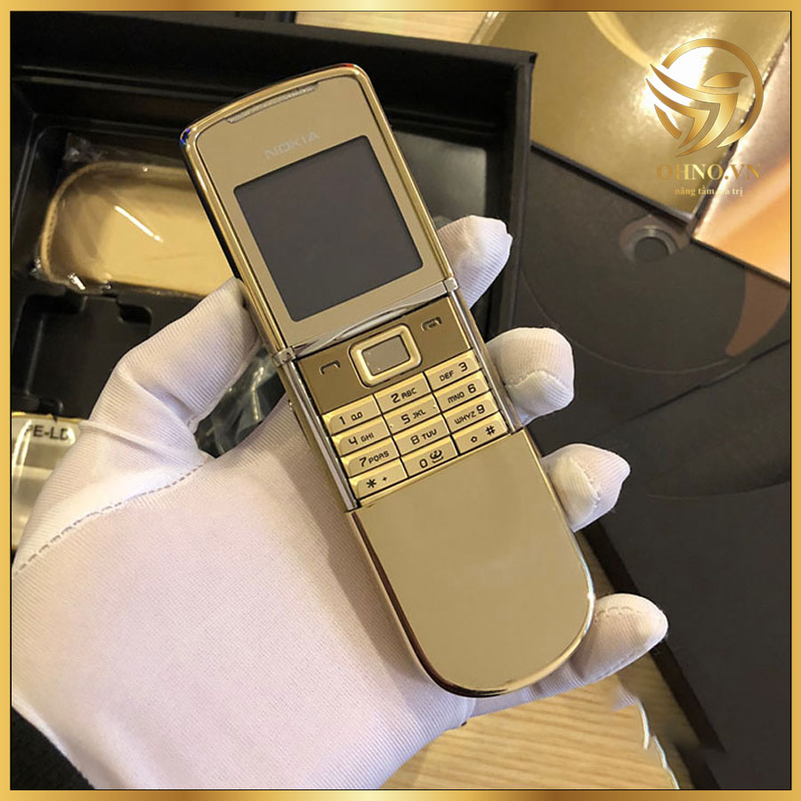 Điện Thoại Nokia 8800 Sirocco Gold ZIN Chính Hãng